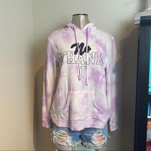 Mighty Fine hoodie tie dye sweatshirt hoodie SZ L